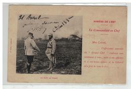 01 BELLEY GENERAL JOFFRE REMET COMMANDANT EN CHEF 133 EME REGIMENT INFANTERIE N°2 - Belley