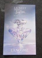 Carte Lancome La Nuit Tresor - Perfume Cards