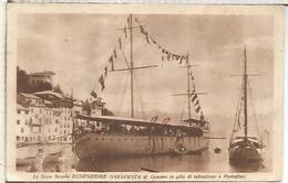 ITALIA PORTOFINO NAVE SCUOLA REDENZIONE GARAVENTA UNUSED - Warships