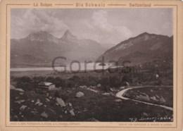 Switzerland - Lauerz See - Lowerzer See - Photo 180x130mm - Ancianas (antes De 1900)