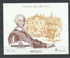 ESPAÑA  EDIFIL   PRUEBA  DE LUJO   17   MNH  ** - Probe- Und Nachdrucke