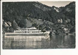 Sundlauenen Am Thunersee Mit M.S. Stadt Bern [Z01-4.857 - Svizzera
