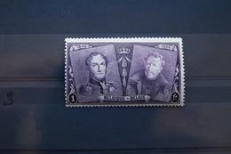 Timbre De 1F Lilas De La Série Commémorative Du 75e Anniversaire Du Timbres-poste. 1925 - Unused Stamps