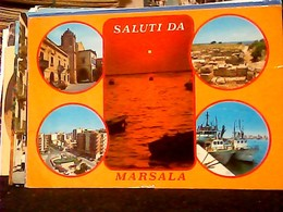 2 Card MARSALA VB1984\2018   HO7381 - Marsala