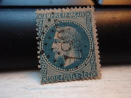Timbre Empire Français 20 C. Napoléon III  Lauré. 29 B Oblitéré. 2687 - 1863-1870 Napoleon III With Laurels