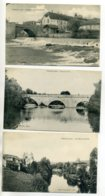 46 FIGEAC 3 Cartes Du Bourg Chaussée Pont Du Pin  Pont Rives Du Célé    D12 2017 - Figeac