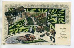 84 LA FONTAINE De VAUCLUSE Souvenir De Grillon Et Multivue Jolie Carte Couleur 1910  D12 2017 - France
