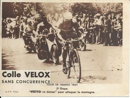 Tour De France 1947   Vietto Va Danser  Pour Attaquer La Montagne - Wielrennen