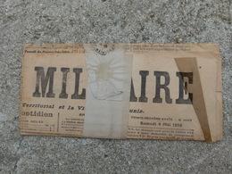 Journal La France Militaire Avec Etiquette Attribué A Un Officier Artilleur - 1914-18