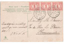 Harzerwoude Dorp Grootrond - 1900 - Marcophilie