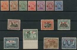 Belgie - Belgique - Belgium OCB 150/163 - Unused Stamps