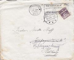 Denmark Slogan 'Statstelegram' KØBENHAVN Omk. 1943 Cover Brief HELLERUP Readressed CHARLOTTENLUND (Arr. Cds.) - Briefe U. Dokumente