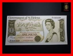 ST. HELENA 1 Pound  1976 P. 6   RARE  UNC - Isla Santa Helena