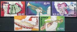Südafrika Mi# 1398-1402 Postfrisch/MNH - Music Instruments - Afrique Du Sud (1961-...)