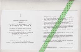 Valerie Scheerlinck-De Clercq, Erembodegem 1924, Liedekerke 2003 - Overlijden