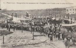 1-7-----tunisie--ferryville--inauguration Du Monument Farfadet Et Lutin Sur La Place De France --livraison Gratuite - Túnez
