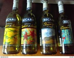 1 Bouteille  RICARD  Thème Les Saveurs Herbes De Provence  VAN GOGH - Other Bottles