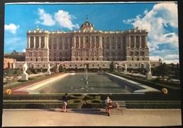 Madrid Fachada Norte Del Palacio Real. - Madrid
