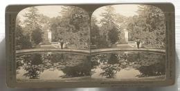 POLAND WARSAW 4800 IN THE GARDEN OF THE PALACE OF VILLANOV 1902 (HC WHITE CO PHOTO STEREOSCOPIQUE) - Stereoscopio