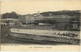 A3  BDR 13 MARSEILLE St BARTHELEMY L'Hospice 1907 TBE Attelage Provencal Lacour - Canebière, Centro Città