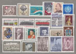 AUSTRIA / OSTERREICH 1977 Year Set Commemorative Sondermarken MNH Postfrisch (**) #18551 - 1971-80 Neufs