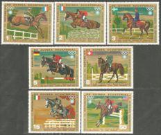 405 Guinée Jumping Dressage Chevaux Horse Pferd Cavallo Caballo MNH ** Neuf SC (GEQ-58c) - Jumping