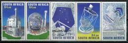 Südafrika Mi# 1617-21 Postfrisch/MNH - Space - Afrique Du Sud (1961-...)