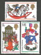 420 G-B 1968 Noel Christmas Enfants Children Dolls Toys Poupées Jouets MNH ** Neuf SC (GB-34a) - 1952-.... (Elizabeth II)