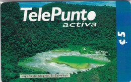 El Salvador, SV-TLP-PRE-0003B, Laguna De Alegría Back 2, Mint In Blister, 2 Scans. - El Salvador