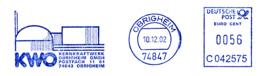 Freistempel 9448 Kernkraftwerk - [7] Federal Republic