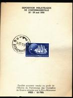BELGIAN CONGO UPU COSTERMANSVILLE 1950 - Belgisch-Kongo