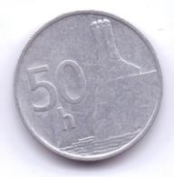 SLOVAKIA 1993: 50 Halierov, KM 15 - Slowakei