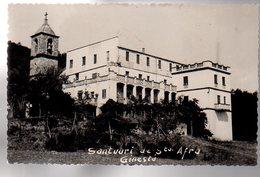 REF 485 : CPA Espagne Spain Santuari De Santa Afra Ginesta - Spagna