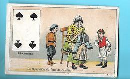IMAGE---MOKA LEROUX--la Réparation Du Fond De Culotte---voir 2 Scans - Té & Café