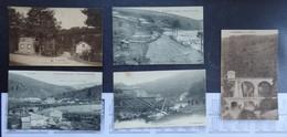 1) Trois-Ponts - Lot De 5 Cartes Postales - Voir 2 Scans. - Trois-Ponts