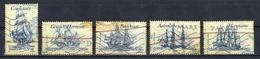 France 2008 : Timbres Yvert & Tellier N° 4249 - 4250 - 4251 - 4252 - 4253 Et 4254 Avec Oblit. Mécaniques. - Oblitérés