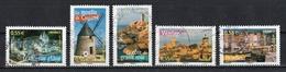 France 2008 : Timbres Yvert & Tellier N° 4161 - 4162 - 4163 - 4164 - 4165 - 4166 - 4167 - 4168 - 4169 Et 4170 Avec Obli. - Oblitérés