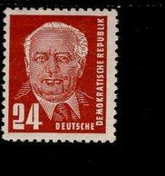 DDR 324 ZXII Gepr.  Wilhelm Pieck II MLH * - DDR