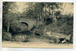 31 FRONTON Lavandiere Au Travail Brouette Le Lavoir Pres Du Pont  No 314 Labouche - 1920    D09 2020 - France