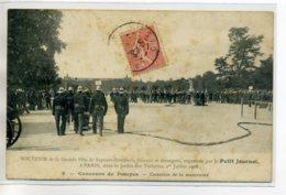 75 PARIS Grande Fete Sapeurs Pompiers Francais Et Etrangers 1 Er Juillet 1906 Par Le Petit Journal - 8 Conco  D09 2020 - France