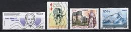 France 2009 : Timbres Yvert & Tellier N° 4324 - 4325 - 4326 - 4350 - 4351 - 4352 - 4356 - 4371 Et 4377 Avec Oblit. Méca. - Frankreich
