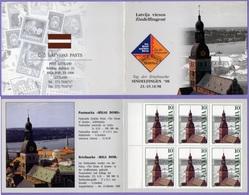 Latvia Lettland Latvija Lettonia 1998. Church Architecture. Booklet. Mi.# 488.   MNH - Lettonie