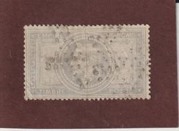 33 De 1869  - Oblitéré  - Type Napoléon  .  Empire Français . 5.fr . Violet-gris  - 2 Scannes - 1863-1870 Napoleon III With Laurels