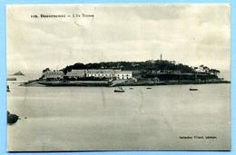 CPA 29 Finistère Douarnenez L'Ile Tristan - Douarnenez