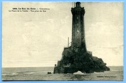 2 CPA 29 Finistère Plogoff / Le Raz De Sein, Gorlebella, Phare De La Vieille / Pointe Du Raz, Baie Des Trépassés - Plogoff
