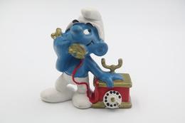 Smurfs Nr 20062#3 - *** - Stroumph - Smurf - Schleich - Peyo - Telephone - Smurfen