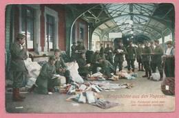 68 - COLMAR - Gare - Bahnhof - Livraison Des Lettres Et Paquets De La Feldpost Pour Les Soldats Sur Le Front Des Vosges - Colmar