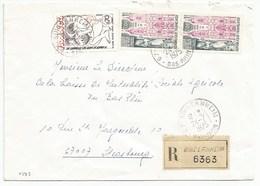 H373 - BAS RHIN - BINDERNHEIM - 1975 - ROND Avec CODE POSTAL 67 - Recommandé - - Marcophilie (Lettres)