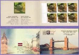Latvia Lettland Latvija Lettonia 2000. Writer Aleksander Chak. Booklet. Mi.# 518.   MNH - Lettonie