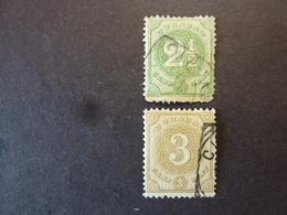 CURACAO, Année 1889, YT N° 15 Et 16 Oblitérés - Curacao, Netherlands Antilles, Aruba